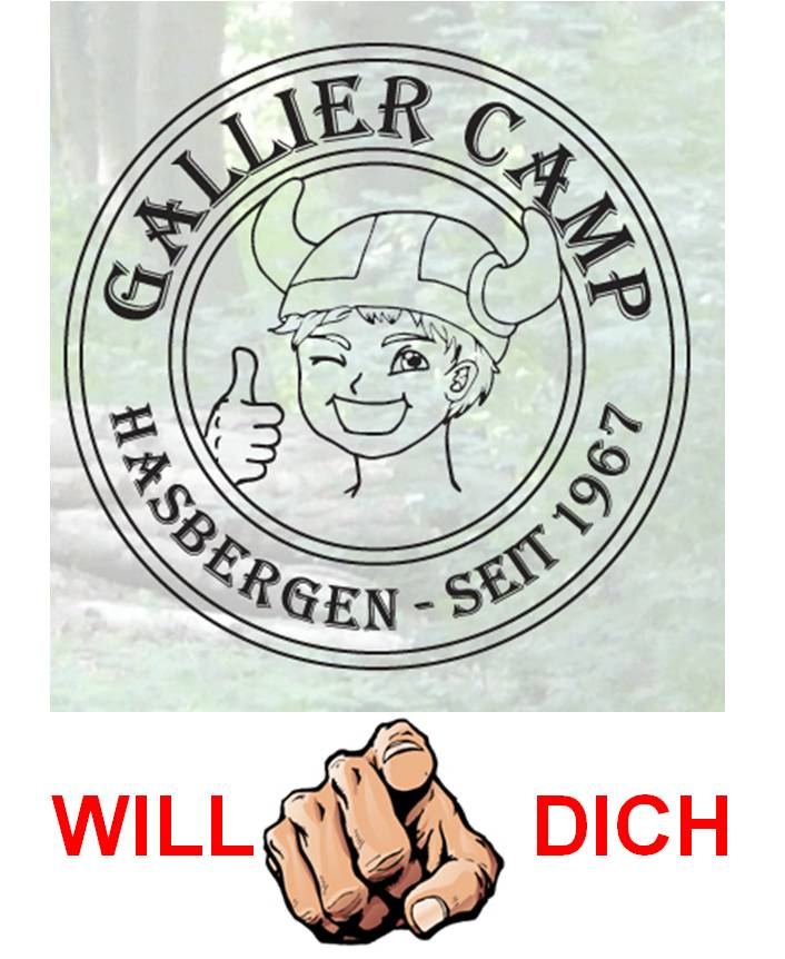 Bereite DEIN Spiel für´s Gallier Camp vor!!!