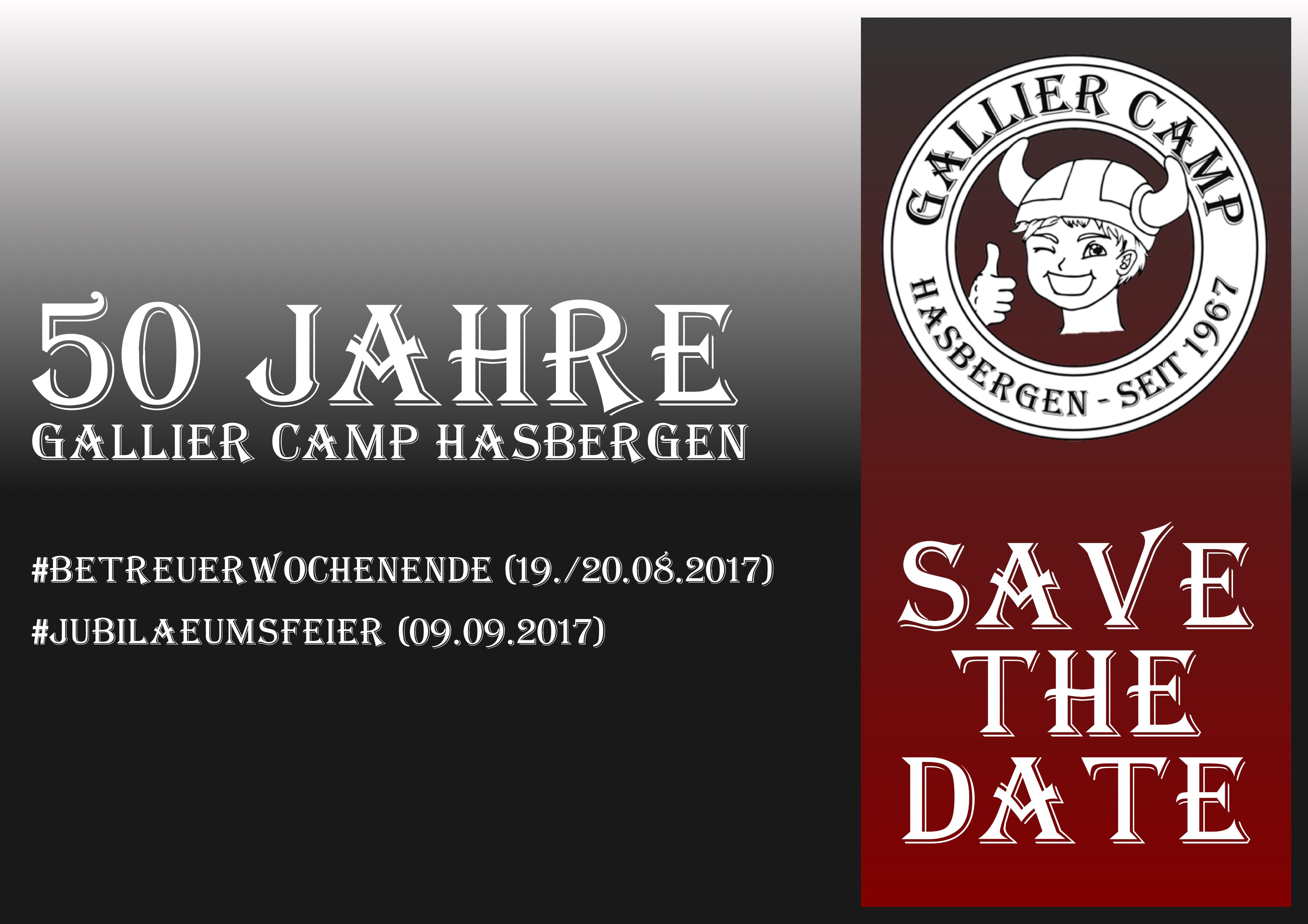 Gallier Camp feiert Jubiläum